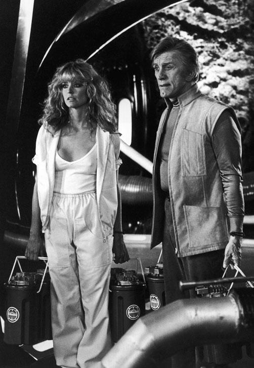 If truth be told, the opportunity to romp around naked with Farrah Fawcett  ...