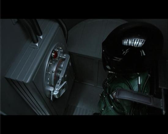 Benson activates the surface door emergency release ...