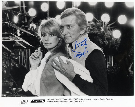 Adam and Alex (signed lobby card)