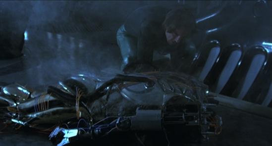Benson dismantles Hector (screen cap courtesy Craig Spivey).