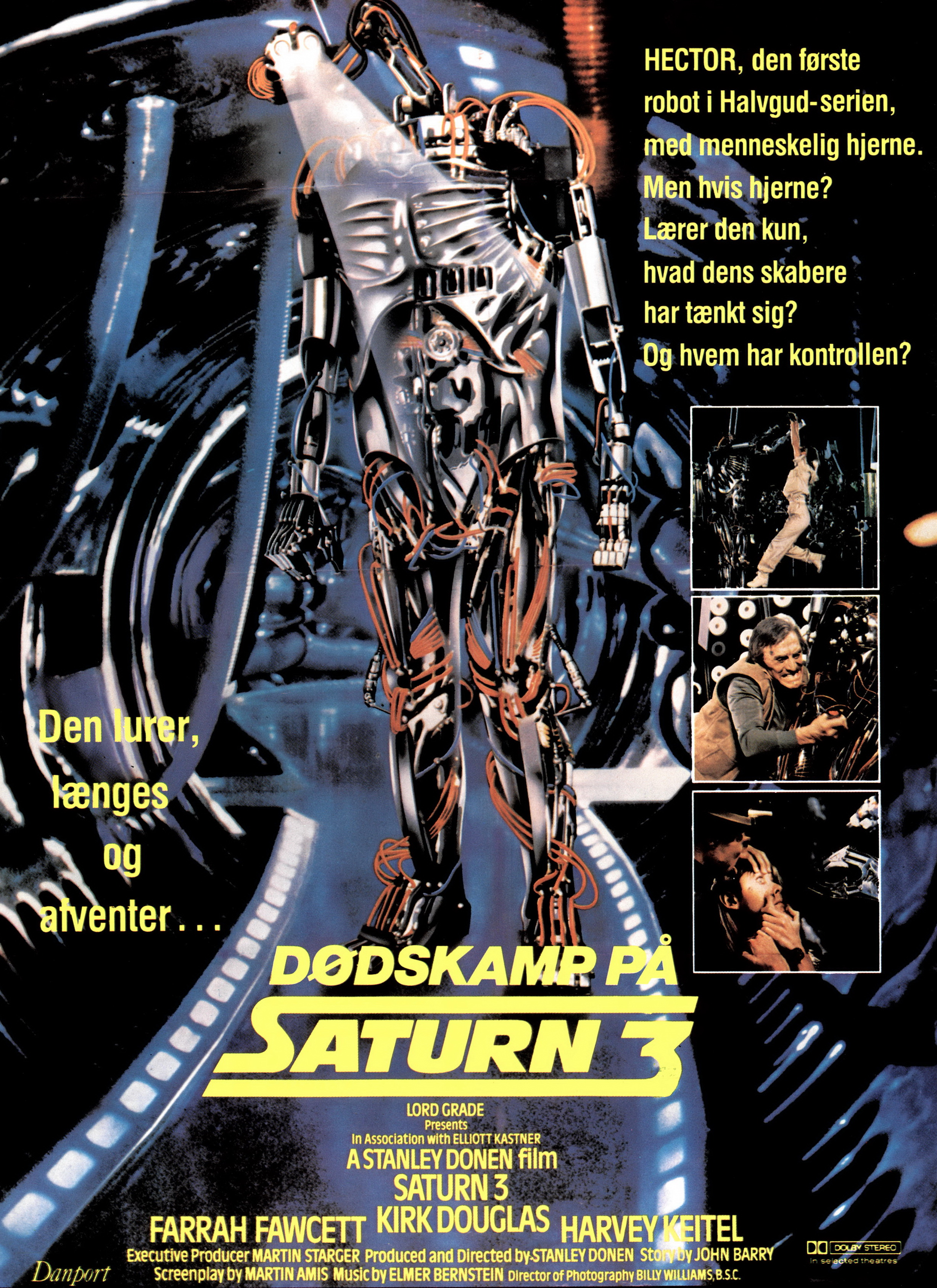Poster Gallery 8 Something Is Wrong On Saturn 3