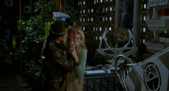 Benson checks Alex's eye (screen cap courtesy Craig Spivey).
