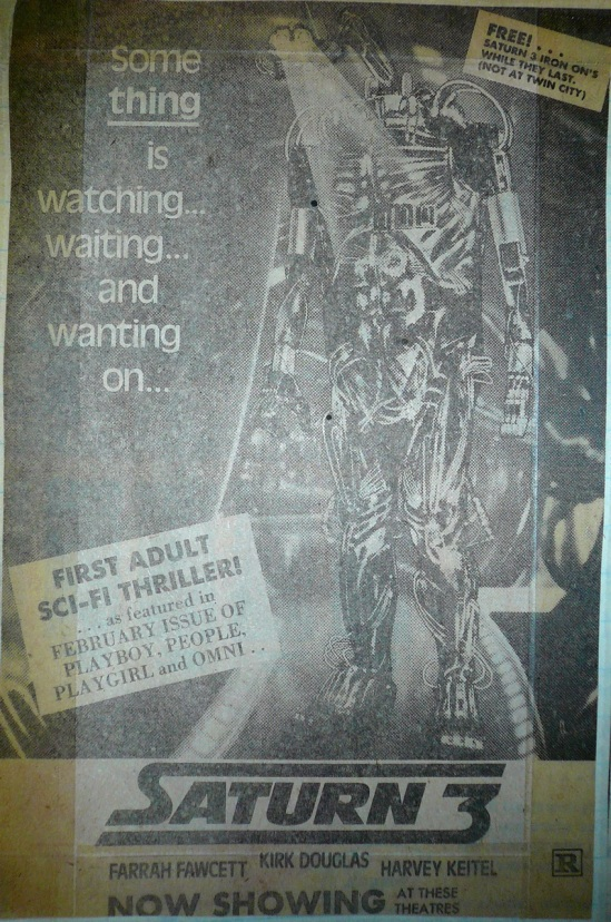 Saturn 3 print ad promoting the free giveaway.